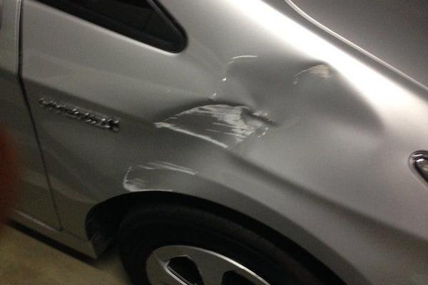 タイムズカーシェアリングでの事故