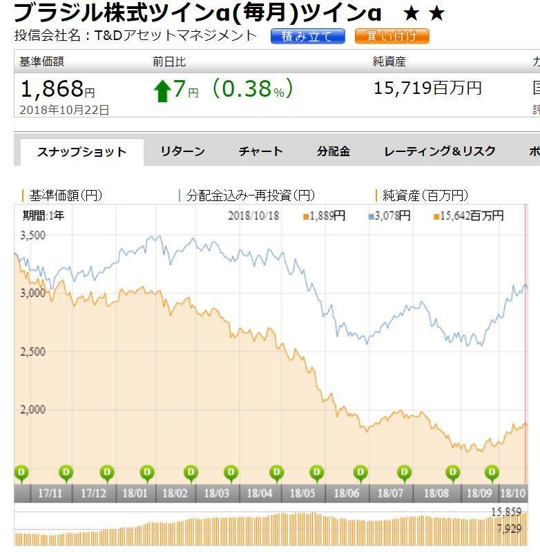 ブラジル株式ツイン