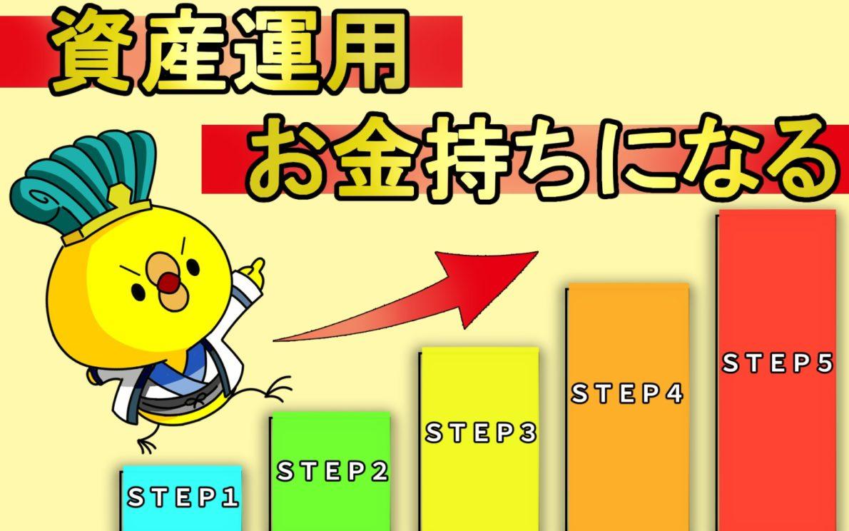 資産運用STEP