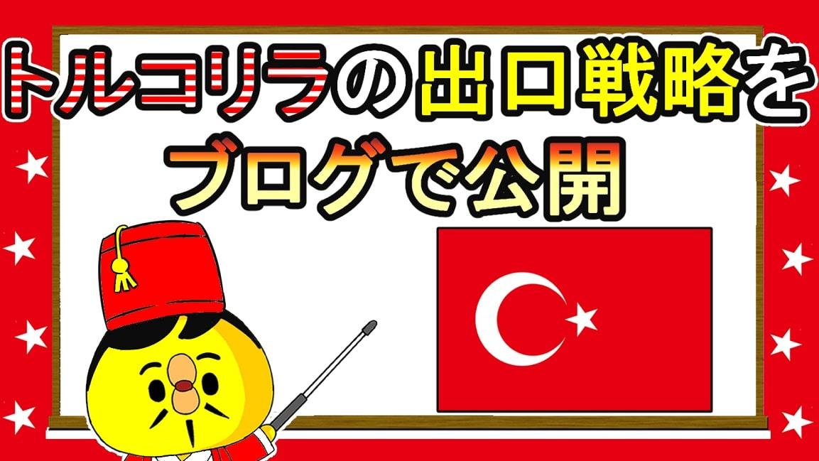 トルコリラの出口戦略をブログで公開